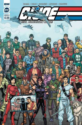 G.I. Joe: A Real American Hero #272 (Sullivan Cover)