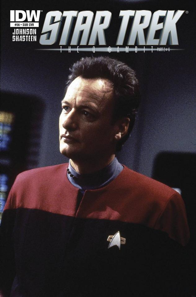 Star Trek #36 (Subscription Cover)