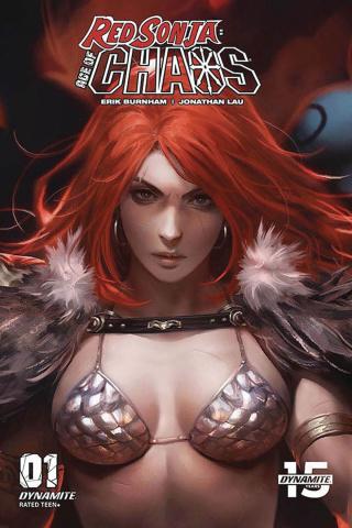 Red Sonja: Age of Chaos #1 (10 Copy Chew Sneak Peek Cover)