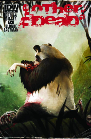 The Other Dead #2 (Subscription Cover)