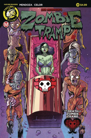 Zombie Tramp #51 (Celor Cover)