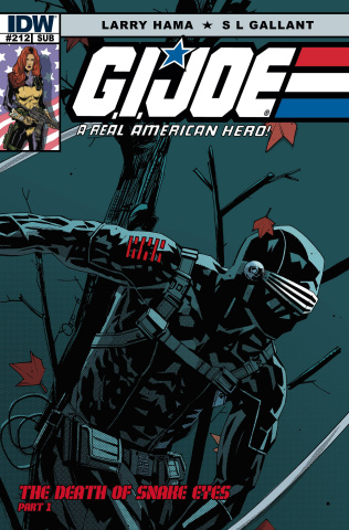 G.I. Joe: A Real American Hero #212 (Subscription Cover)