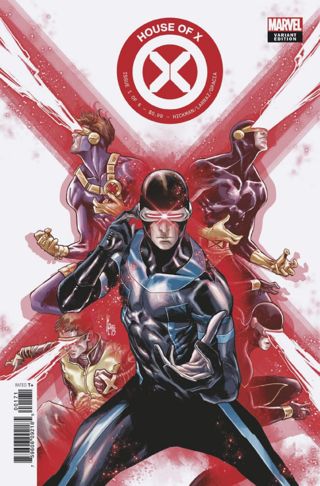 House of X #1 (Character Decades Cover)