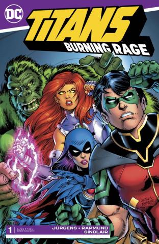 Titans: Burning Rage #1