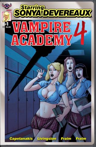 Starring Sonya Devereaux: Vampire Academy #1