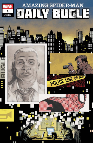 The Amazing Spider-Man: Daily Bugle #1 (Shalvey Cover)