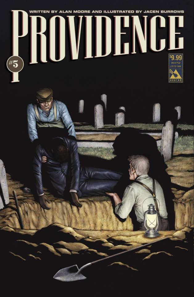 Providence #5 (Weird Pulp Cover)