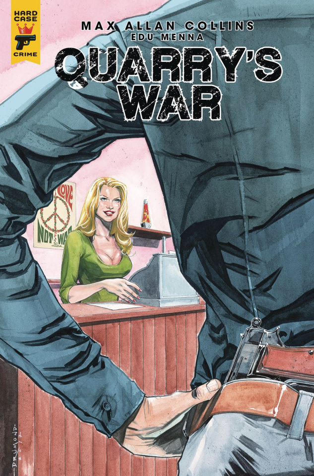 Quarry's War #3 (Drummond Cover)