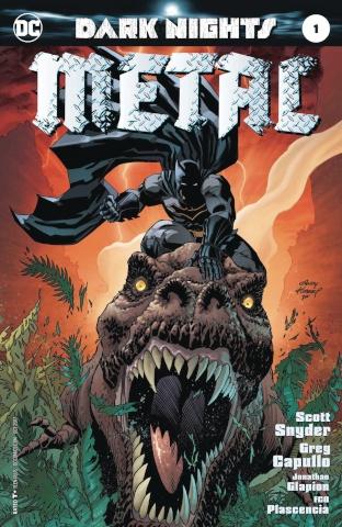 Dark Nights: Metal #1 (Kubert Cover)