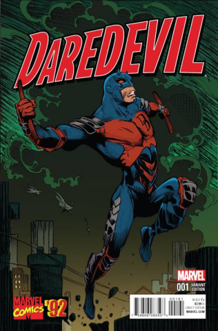 Daredevil #1 (Marvel '92 Cover)