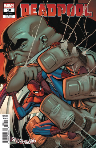 Deadpool #10 (Bradshaw Spider-Man Villains Cover)