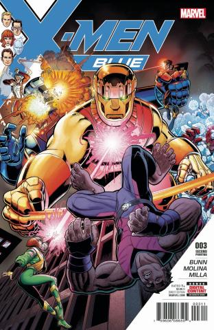 X-Men: Blue #3 (2nd Printing Art Adams Cover)