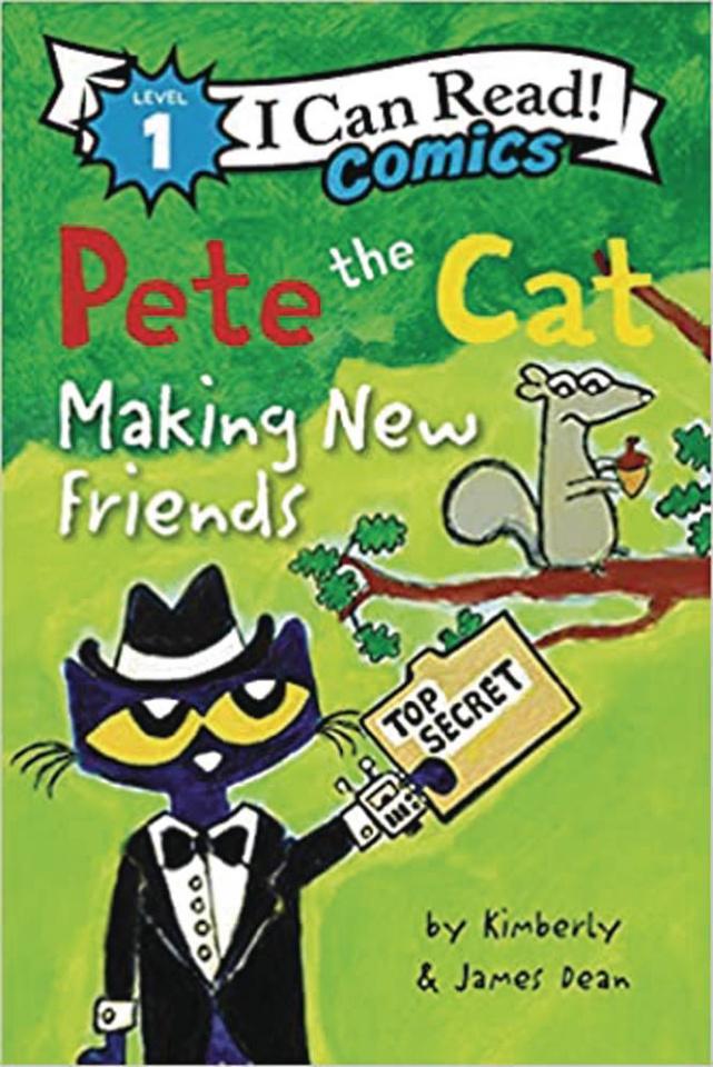 I Can Read! Comics Level 1: Pete the Cat Making New Friends