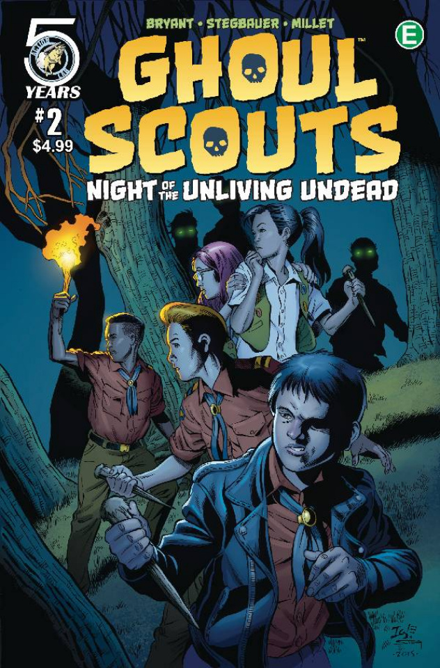 Ghoul Scouts: Night of the Unliving Undead #2 (Igle Cover)