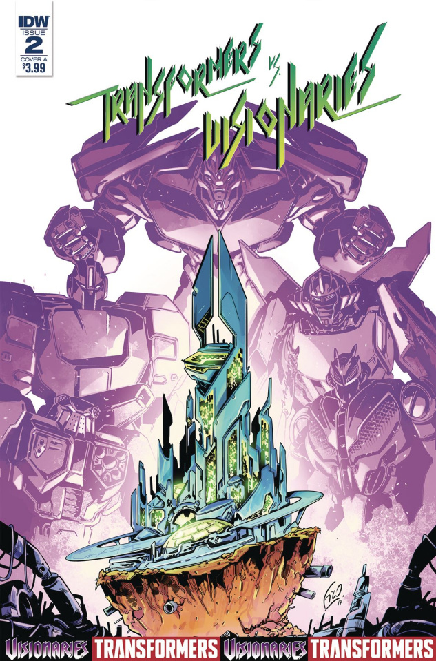 The Transformers vs. The Visionaries #2 (Ossio Cover)