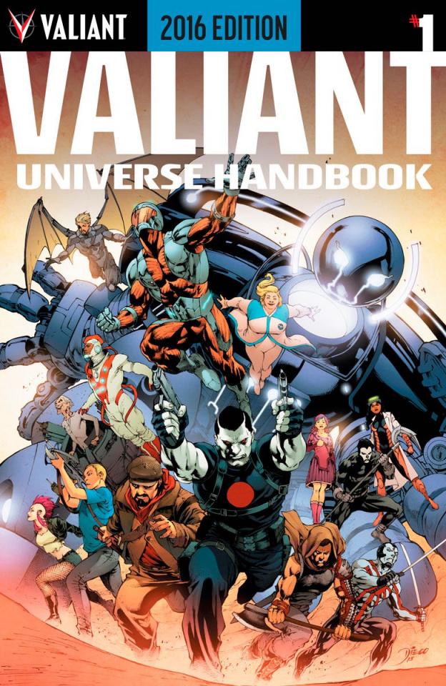 Valiant Universe Handbook 2016 #1 (Bernard Cover)