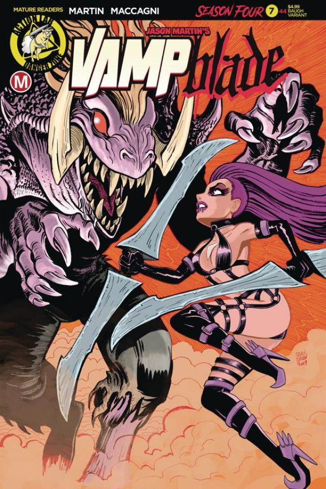 Vampblade, Season Four #7 (Baugh Cover)