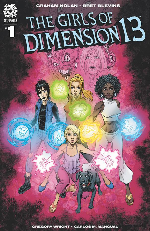 The Girls of Dimension 13 #1 (Blevins Cover)