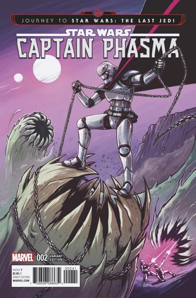 Journey to Star Wars: The Last Jedi - Captain Phasma #2 (Wijngaard Cover)