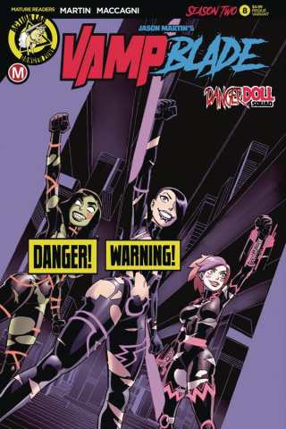 Vampblade, Season Two #8 (Winston Young Risque Cover)