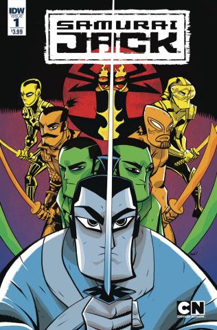 Samurai Jack: Quantum Jack #1 (Oeming Cover)