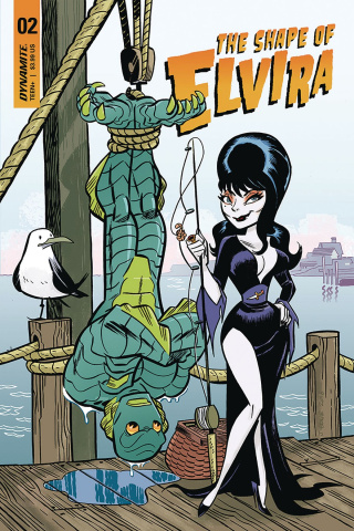 The Shape of Elvira #2 (J Bone Cover)