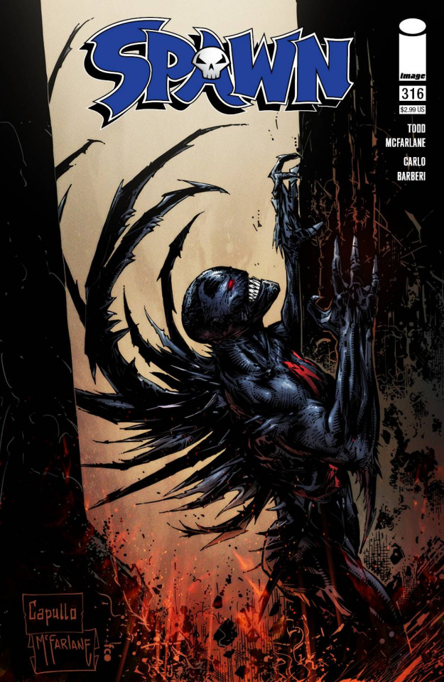 Spawn #316 (Capullo & McFarlane Cover)