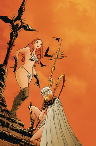 Sonjaversal #4 (Lee Virgin Cover)