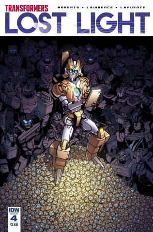 The Transformers: Lost Light #4