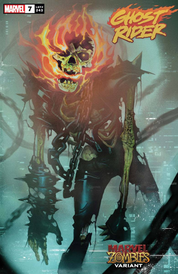 Ghost Rider #7 (Mundo Marvel Zombies Cover)