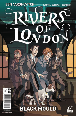 Rivers of London: Black Mould #1 (Florean Cover)