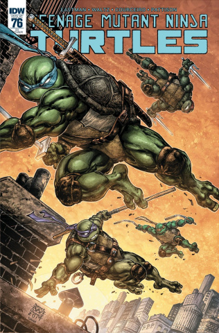 Teenage Mutant Ninja Turtles #76 (25 Copy Cover)
