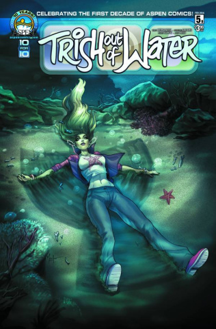 Trish Out of Water #5 (Andolfo Cover)