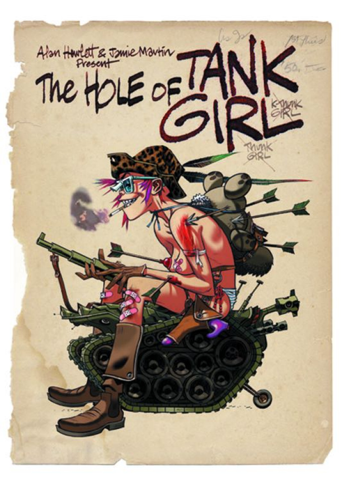 The Hole of Tank Girl (Slipcased Edition)
