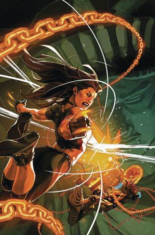 X-23 #4 (Putri Cosmic Ghost Rider Cover)