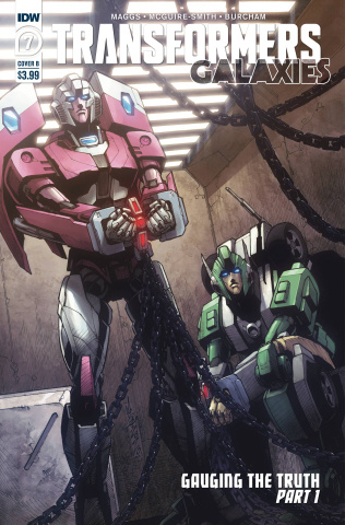 Transformers: Galaxies #7 (Milne Cover)