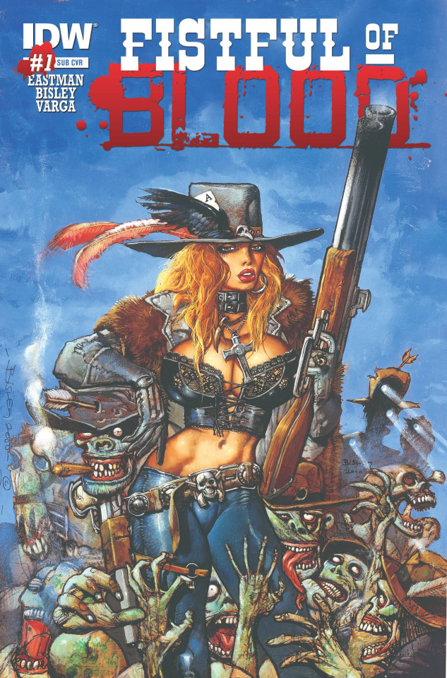 Fistful of Blood #1 (Subscription Cover)