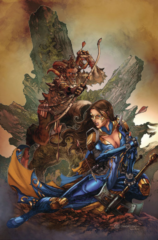 Belle: Oath of Thorns #1 (Tolibao Cover)