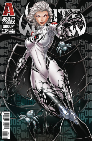 White Widow #5 (Tyndall Wraparound Lenticular Cover)