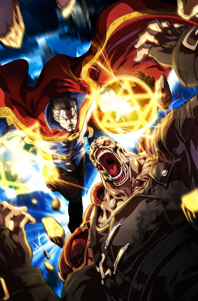 Doctor Strange #24 (Vo Marvel vs. Capcom Cover)