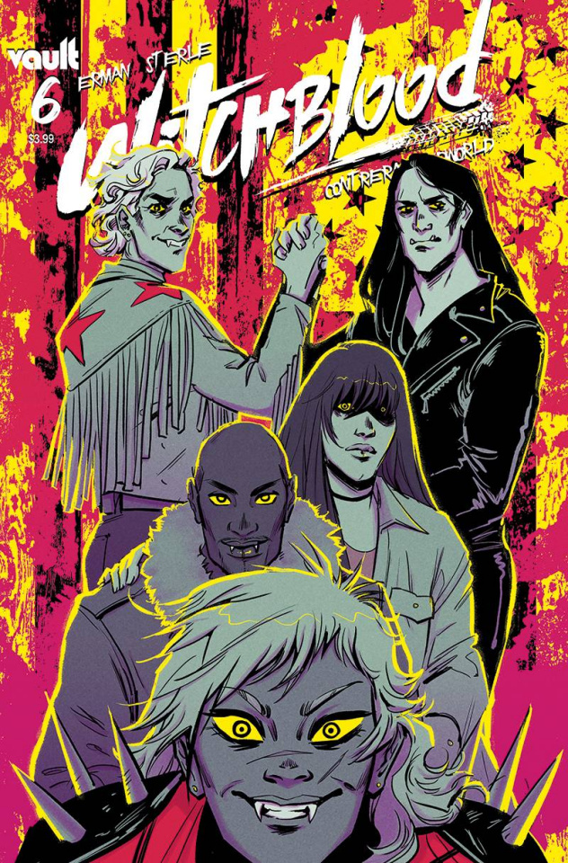 Witchblood #6 (Sterle Cover)