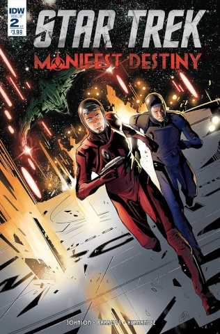 Star Trek: Manifest Destiny #2