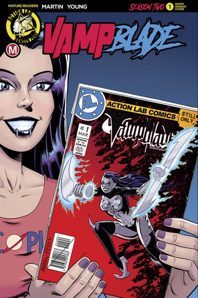Vampblade, Season Two #1 (Pepoy Cover)