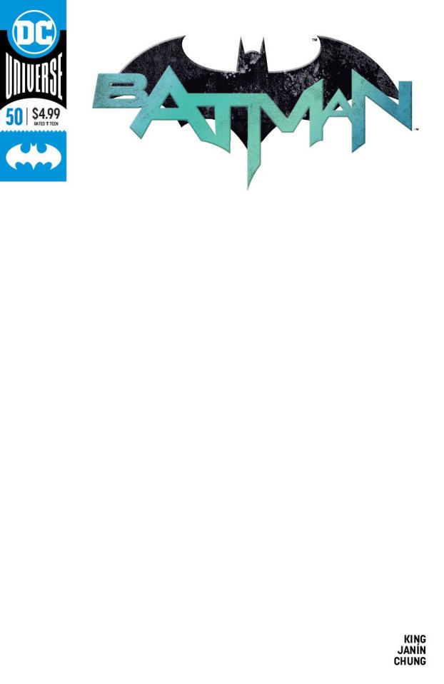 Batman #50 (Blank Cover)