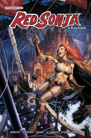 Red Sonja #3 (Anacleto Cover)