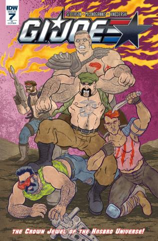 G.I. Joe #7 (10 Copy Cover)