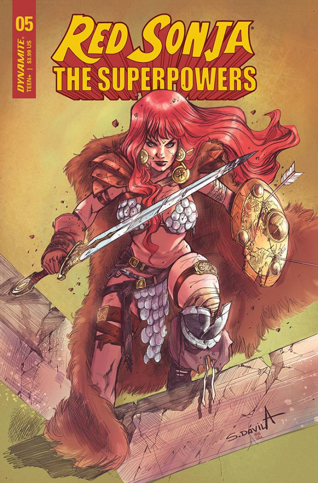 Red Sonja: The Superpowers #5 (Davila Cover)