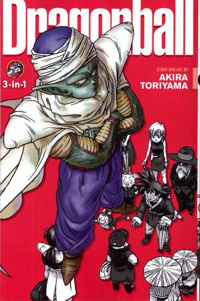 Dragon Ball Vol. 8 (3-in-1)