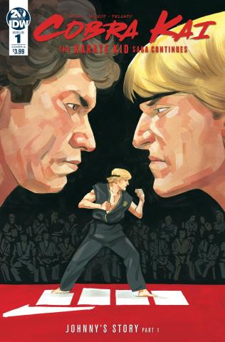 Cobra Kai: The Karate Kid Saga Continues #1 (McLeod Cover)