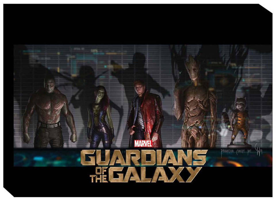 Guardians of the Galaxy: The Art of the Movie